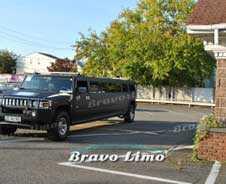 Black Hummer H2